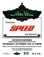 WMO Sponsoring the Silver Lake Picture Show