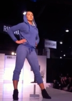 The New WMO Sweatsuit on the Runway at WWD MAGIC