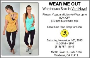 Wear Me Out Sale
